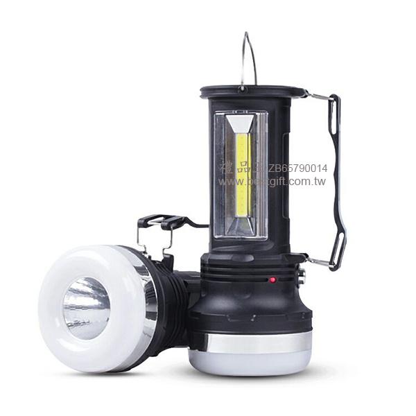 多功能太阳能充电露营灯led手电筒